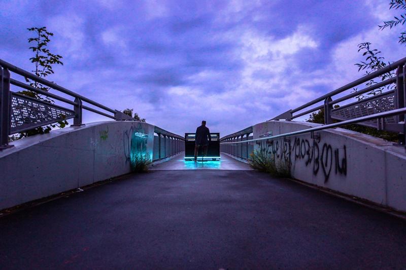 Klavierzauber- Regenbogenbrücke